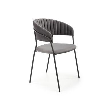 Krzesło K-426 Halmar Szary + Czarny