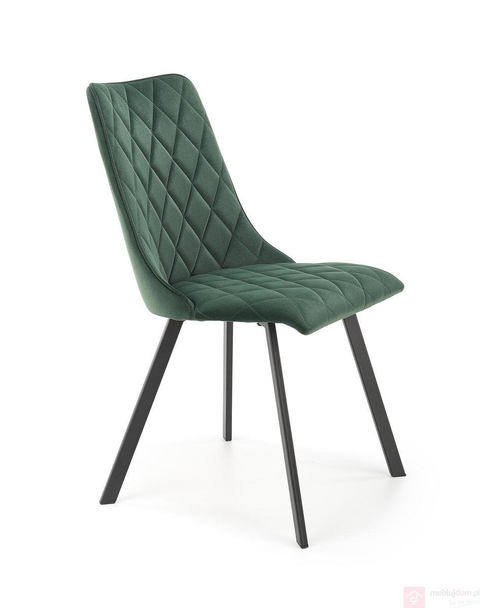 Krzesło K-450 Halmar Ciemnozielony
