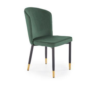 Krzesło K-446 Halmar Ciemnozielone