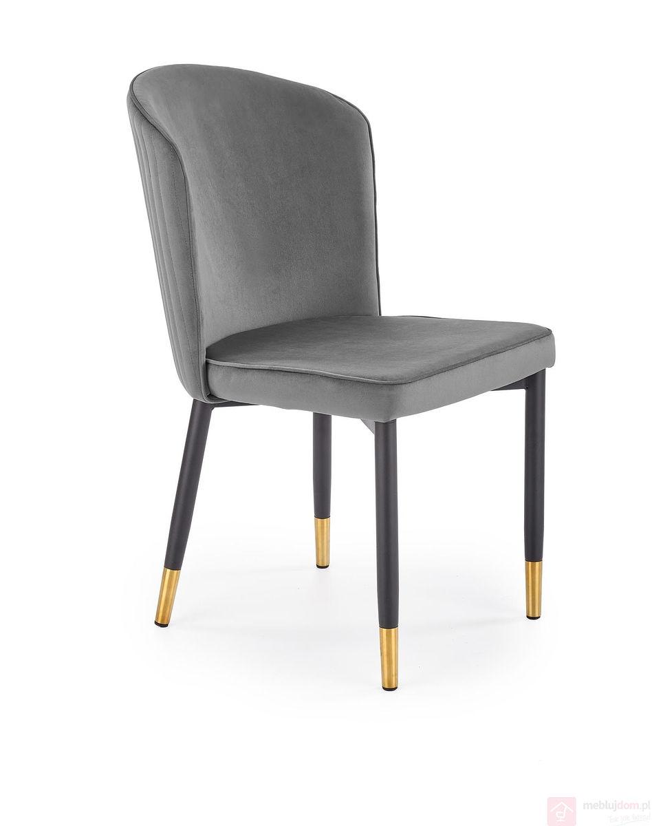 Krzesło K-446 Halmar Szare