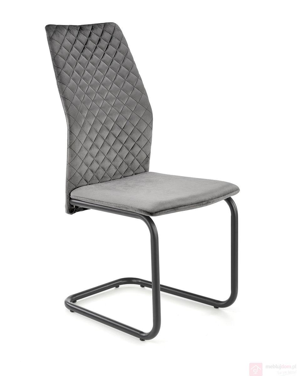 Krzesło K-444 Halmar Szare