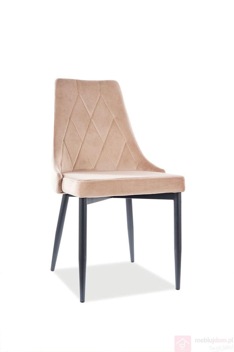 Krzesło TRIX B Velvet Signal bluvel 28 beż