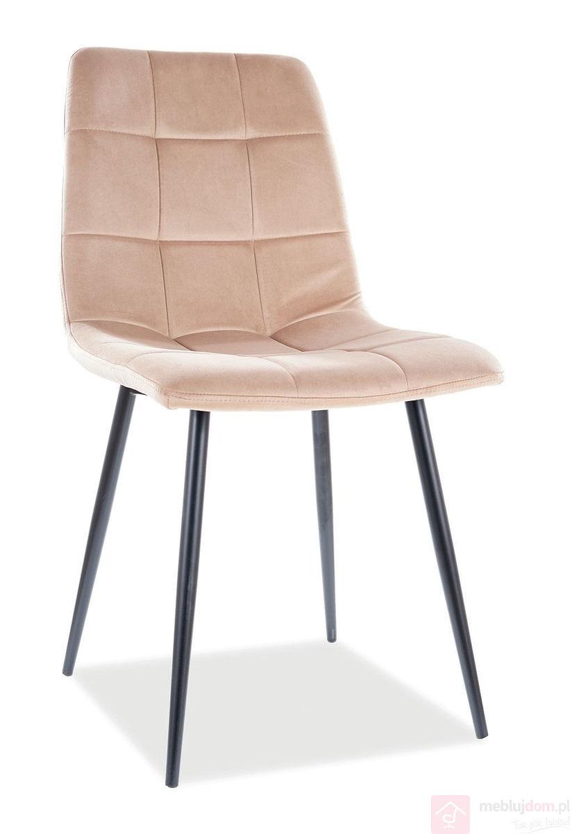 Krzesło MILA VELVET Signal beż