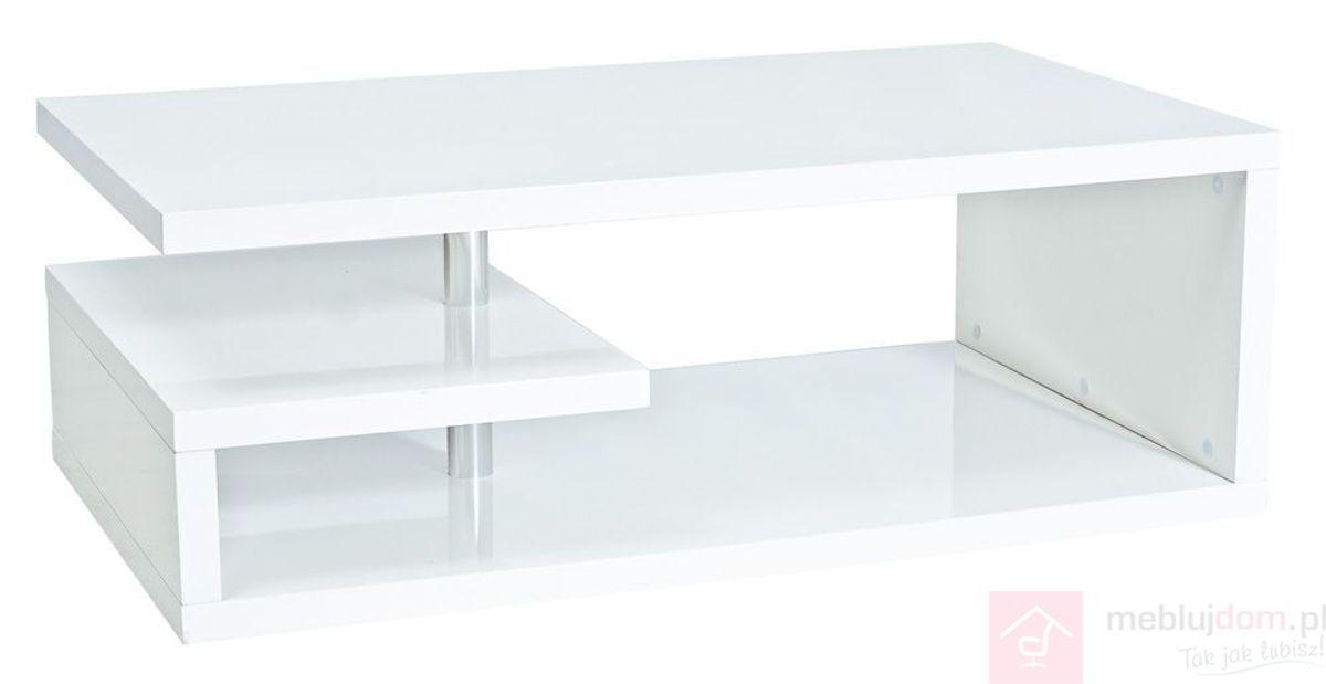 Ława TIERRA Signal Biały połysk, 70x120 cm
