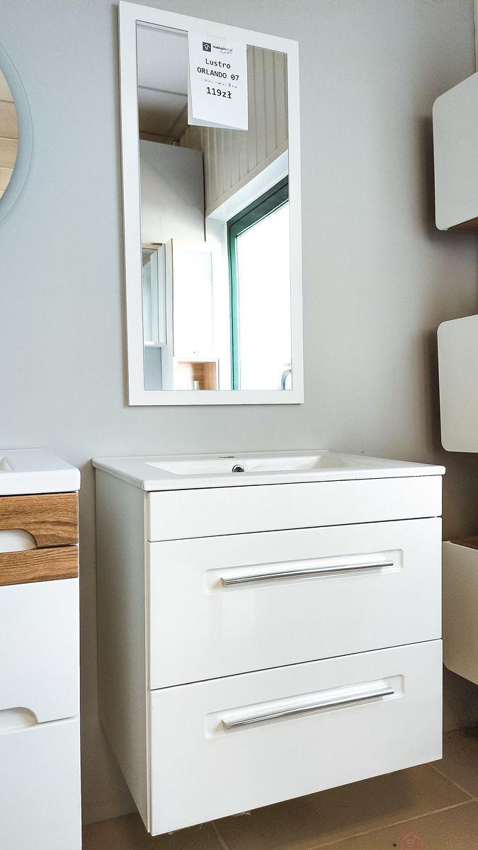 Zestaw mebli łazienkowych ACTIVE z umywalką [Outlet]