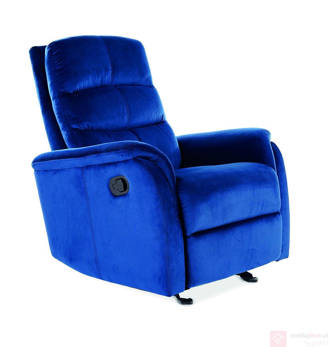 Fotel relaksacyjny JOWISZ VELVET Signal