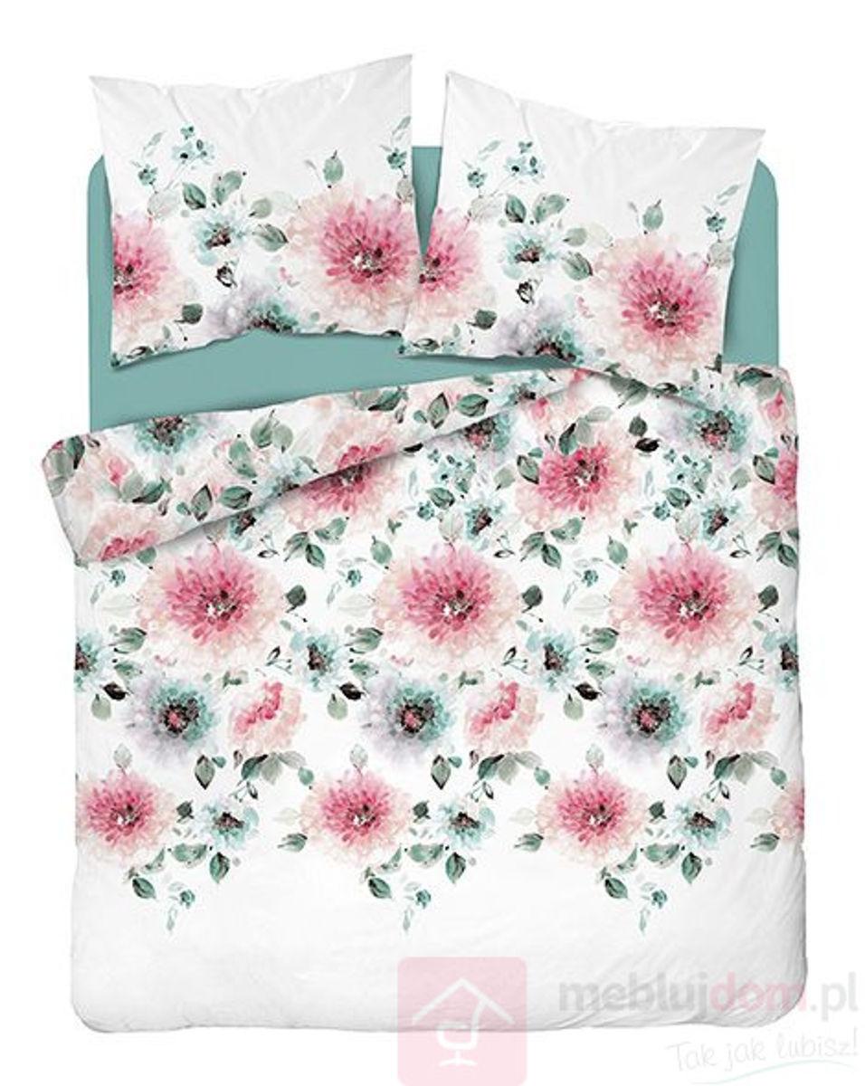 Pościel Home Satin 3496A 220x200 Kwiaty