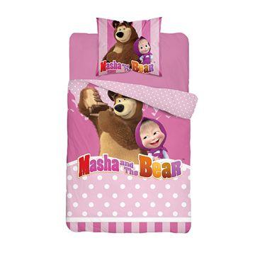Pościel licencyjna 046 Masha i Niedźwiedź 140x200