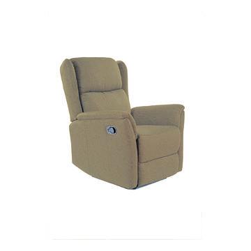 Fotel relaksacyjny ZEUS VELVET Signal brązowy