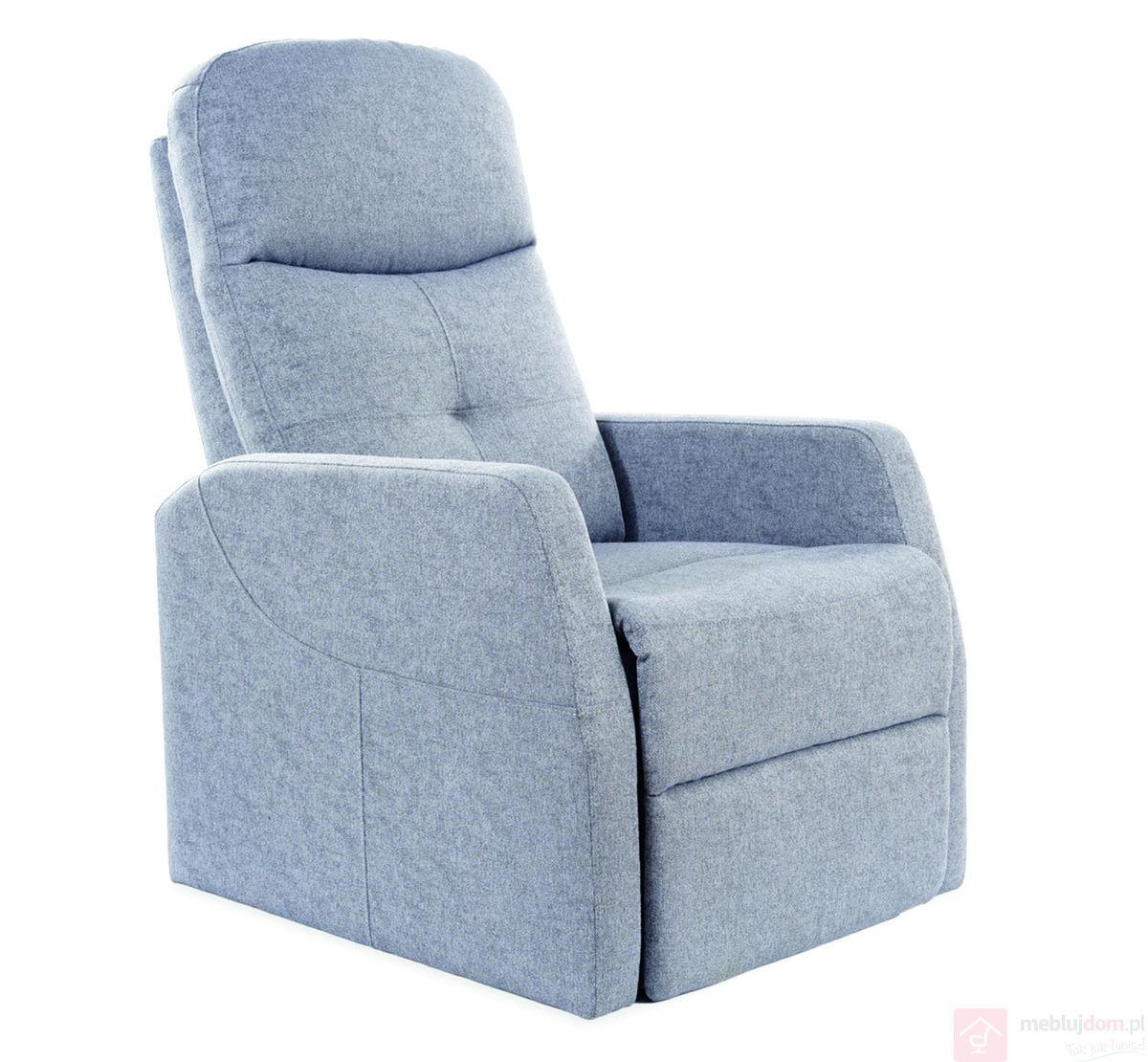 Fotel relaksacyjny ARES Signal szary