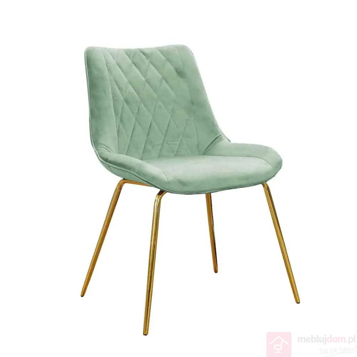Krzesło DIARO złote nóżki