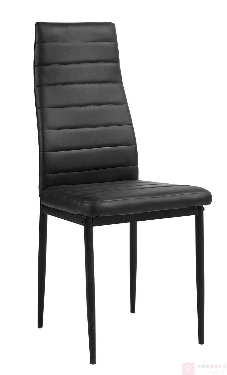 Krzesło F261-3-KD Czarne