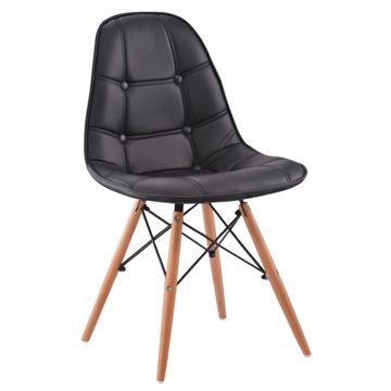 Krzesło PC-016 Czarne