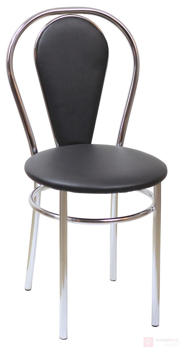 Krzesło TULIPAN PLUS Czarny