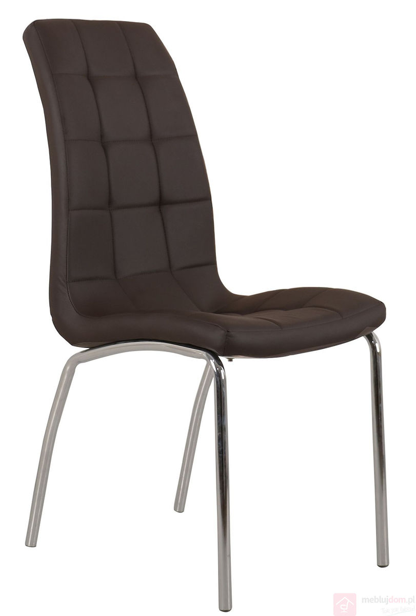Krzesło DC2-092 Brązowe ekoskóra