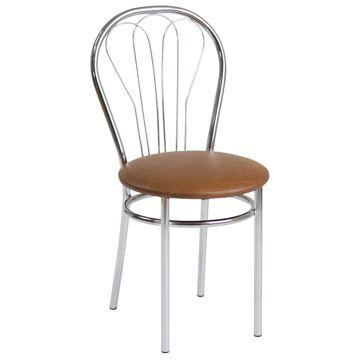 Krzesło VENUS jasny brąz
