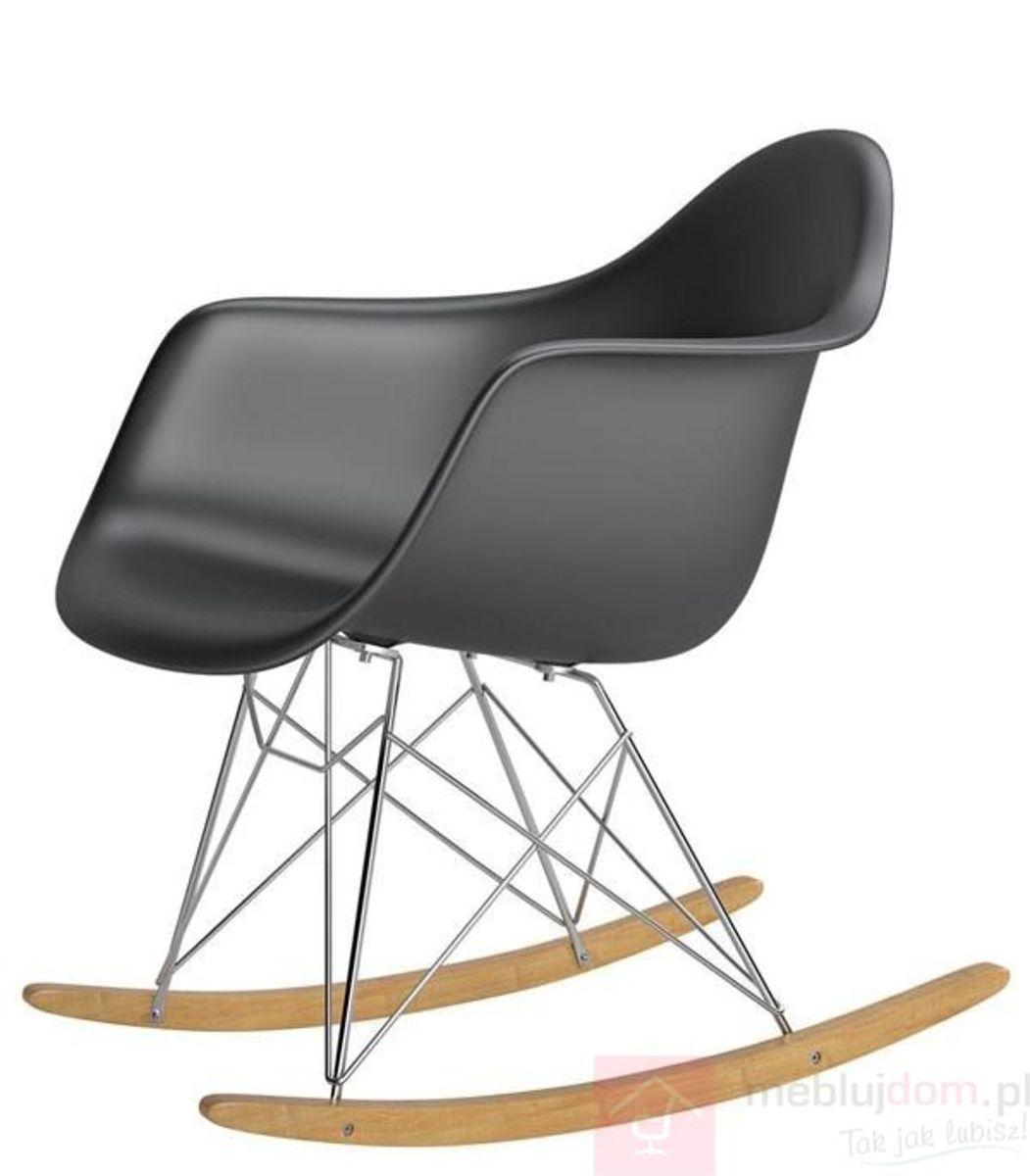 Krzesło P018 RR PP czarny