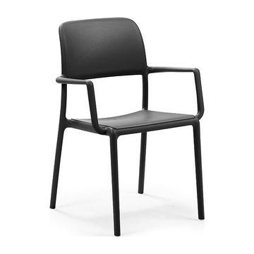 Krzesło z podłokietnikami Riva