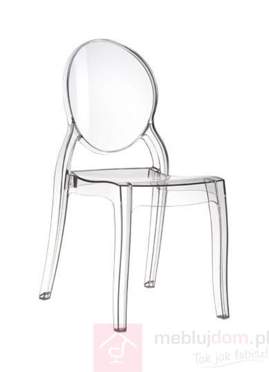 Krzesło Mia transparentne