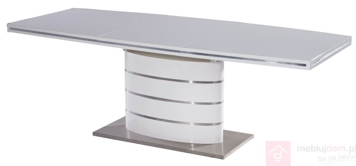 Stół FANO Signal Biały, 100x180-240 cm