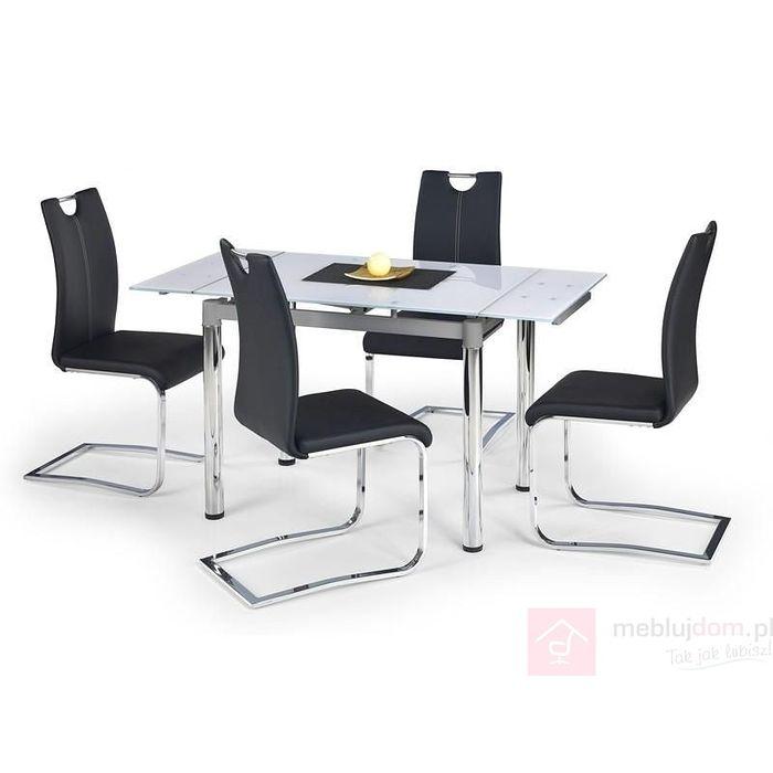 Stół LOGAN 2 Halmar Biały, 70x96-142 cm