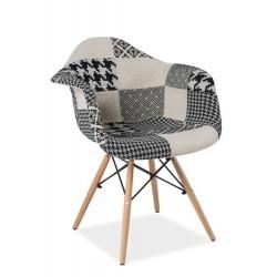 Krzesła patchworkowe