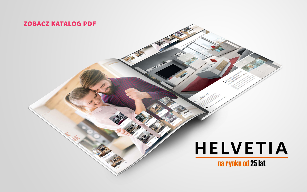 Katalog online mebli Helvetia PDF 2020