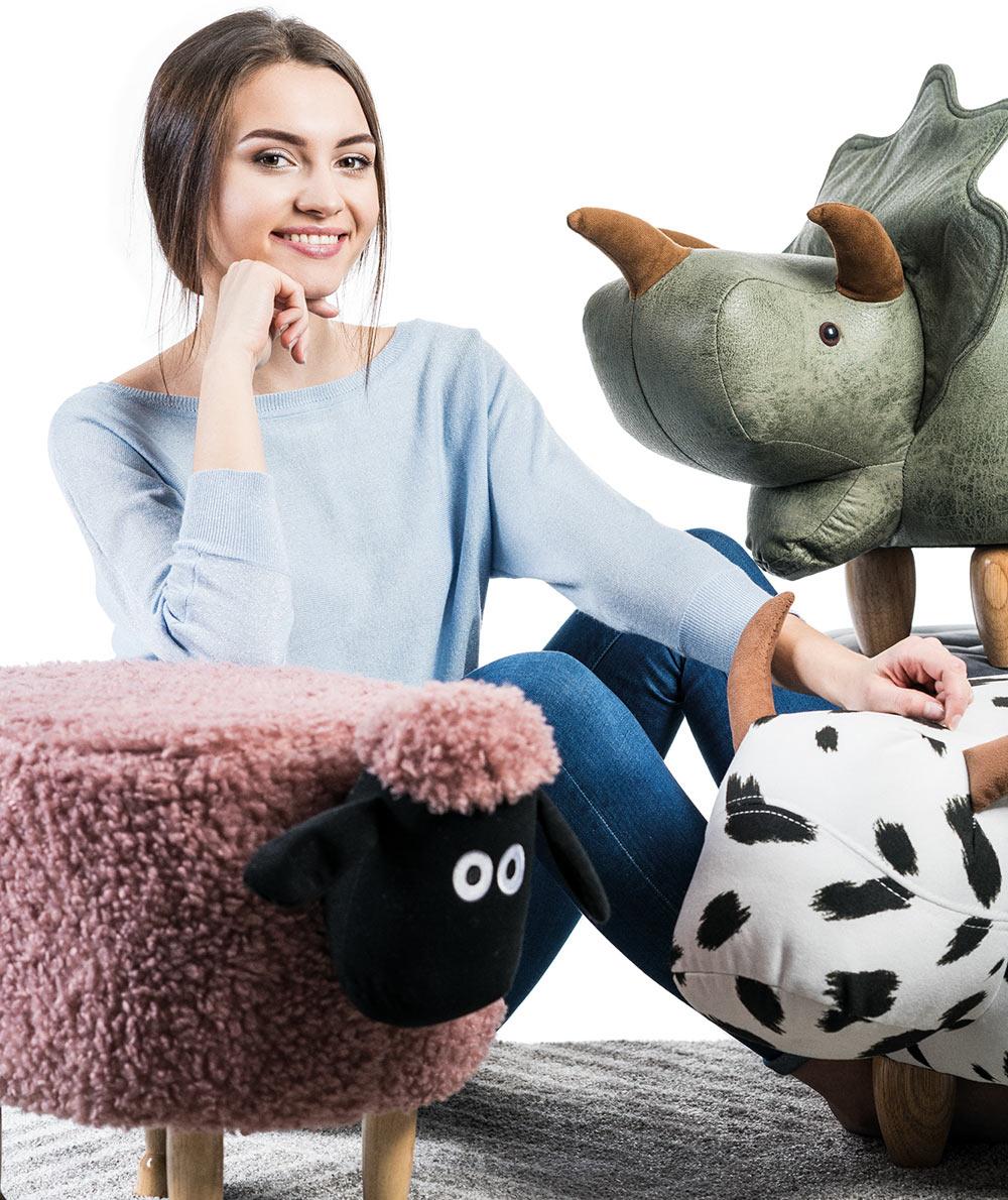 Pufy Zwierzątka -15% taniej z okazji Dnia Dziecka 2019