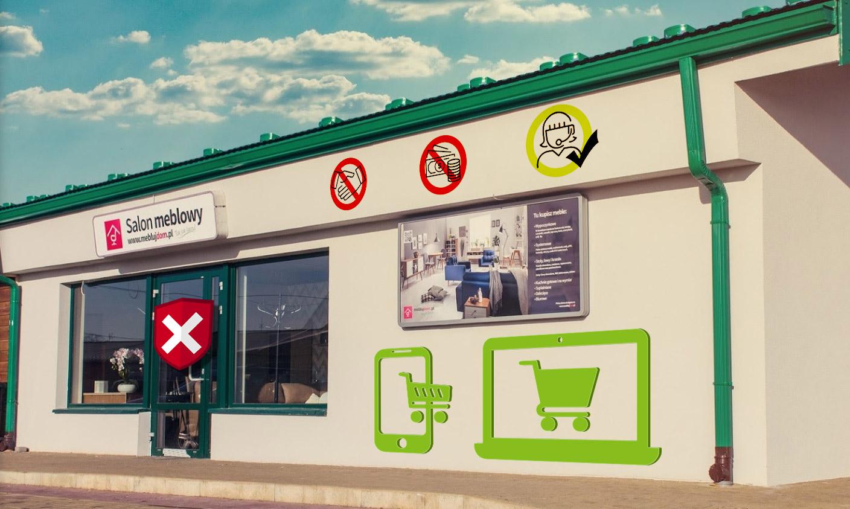 Kupowanie mebli w lokalnym salonie MeblujDom.pl w czasach pandemii