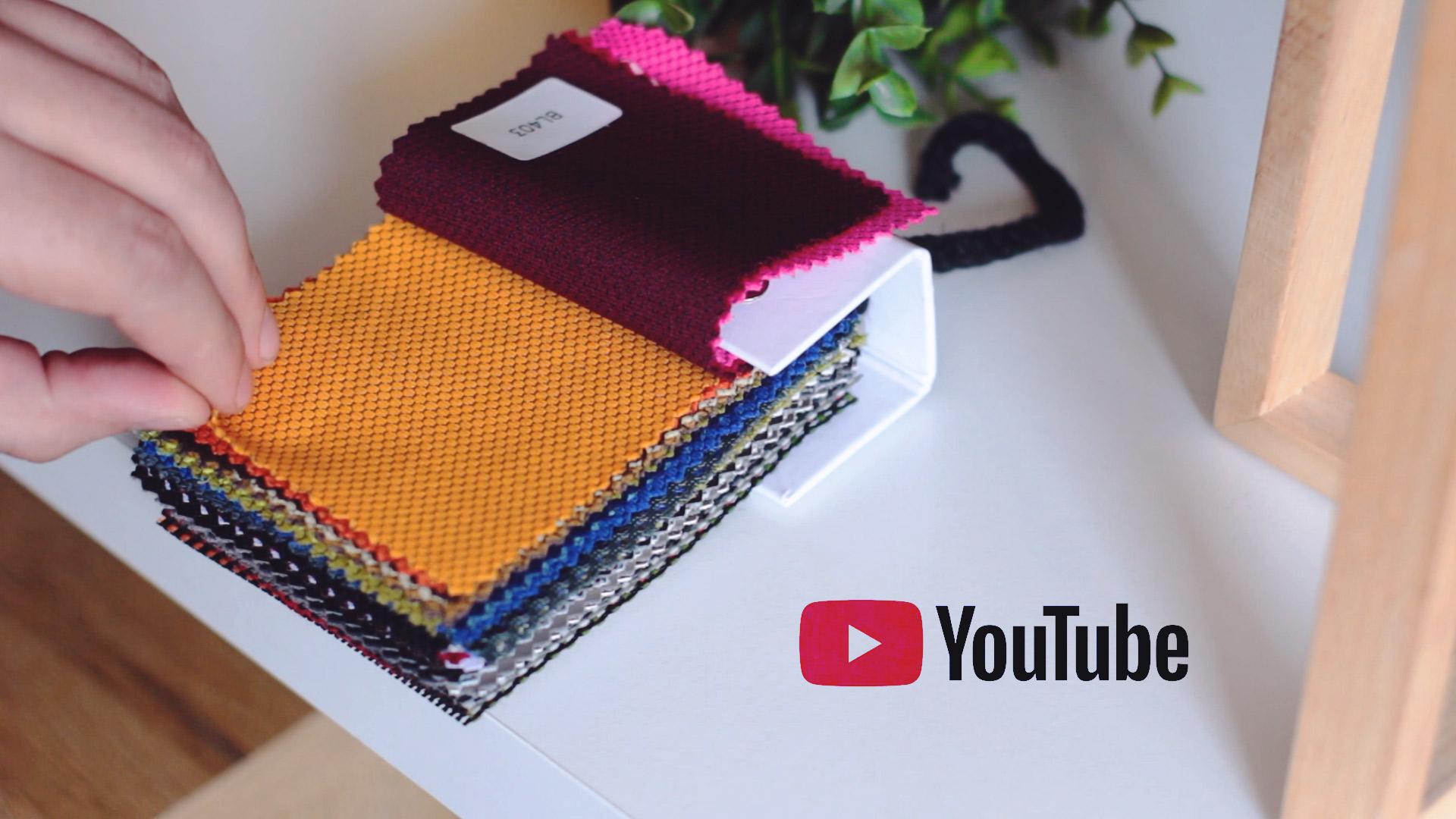 Fotele obrotowe w różnych kolorach tkanin do wyboru - omówienie próbnika Unique
