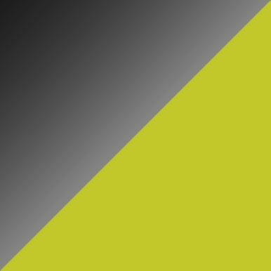 Czarny połysk + limonka