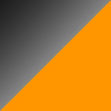 Czarny połysk + pomarańcz