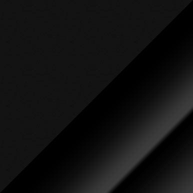 Czarny mat + czarny połysk