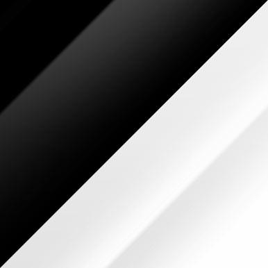 Czarny połysk + biały połysk